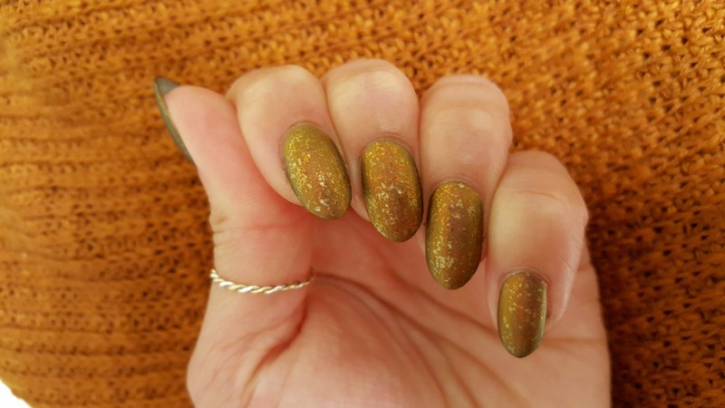 Autumn Glory nail art by Alisha Worth