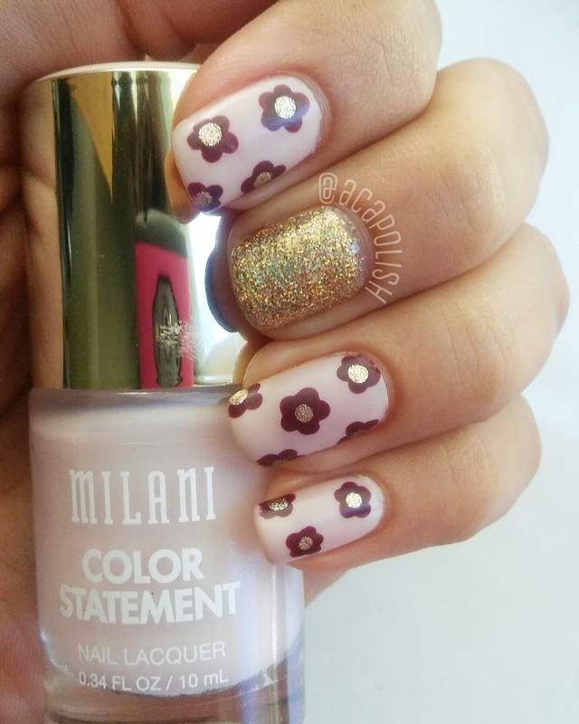 Not-so-halloween nail art!  nail art by Diana Joanes