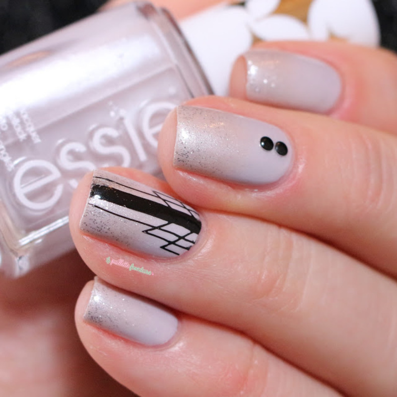 great gatsby nail art by nathalie lapaillettefrondeuse