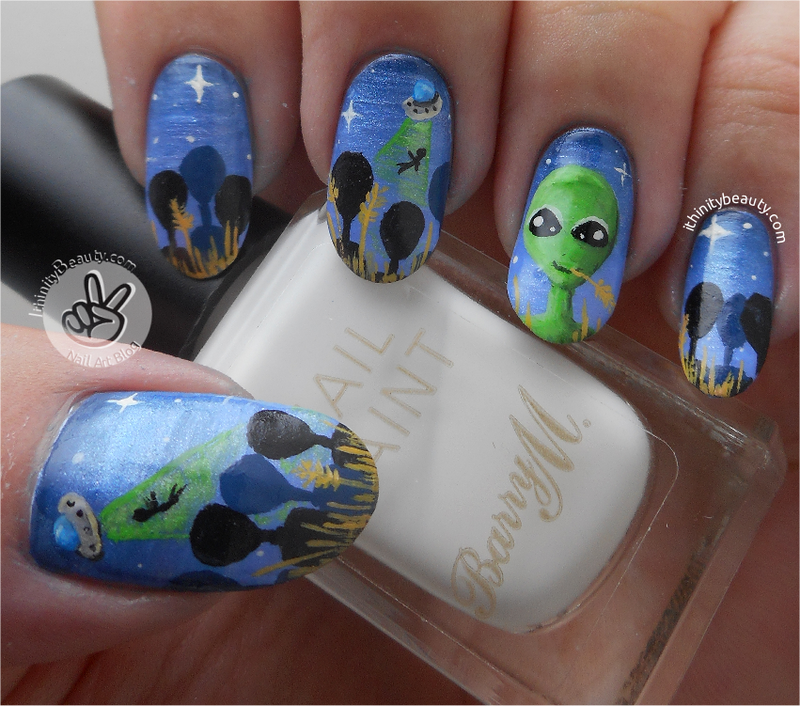 Terry The Extraterrestrial!! nail art by Ithfifi Williams