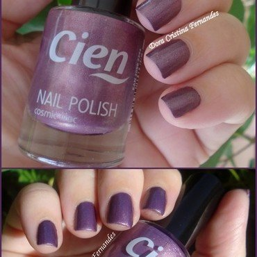 Cien 31 cosmic lilac Swatch by Dora Cristina Fernandes