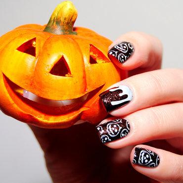 Pumpkins nail art by Lackopfer