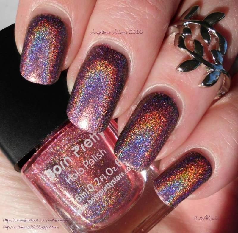 Born Pretty Holo Polish 02 Swatch by Angelique Adams