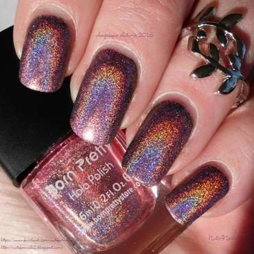 Born Pretty Holo Polish 02 Swatch by Angelique Adams