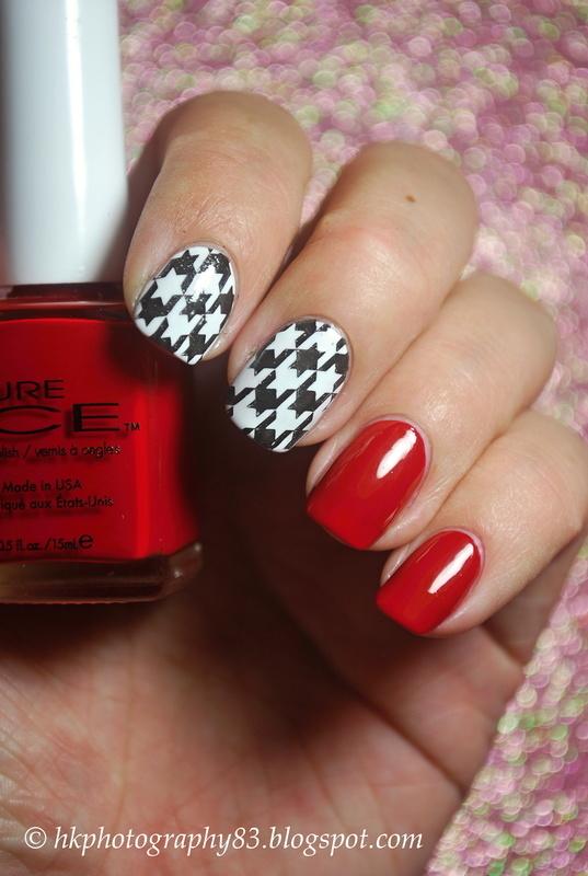 Stamping nail art inspired Liliumzz nail art by Hana K.
