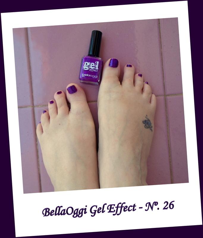 Bellaoggi Gel Effect  Jamaica Violet ( Nº. 26 ) Swatch by Dora Cristina Fernandes