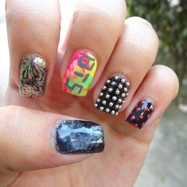 Halloween Nail Art nail art by Leneha Junsu