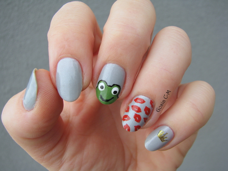 Prince Frog nail art by Nail Crazinesss