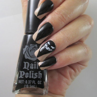 Halloween Claws nail art by NinaB