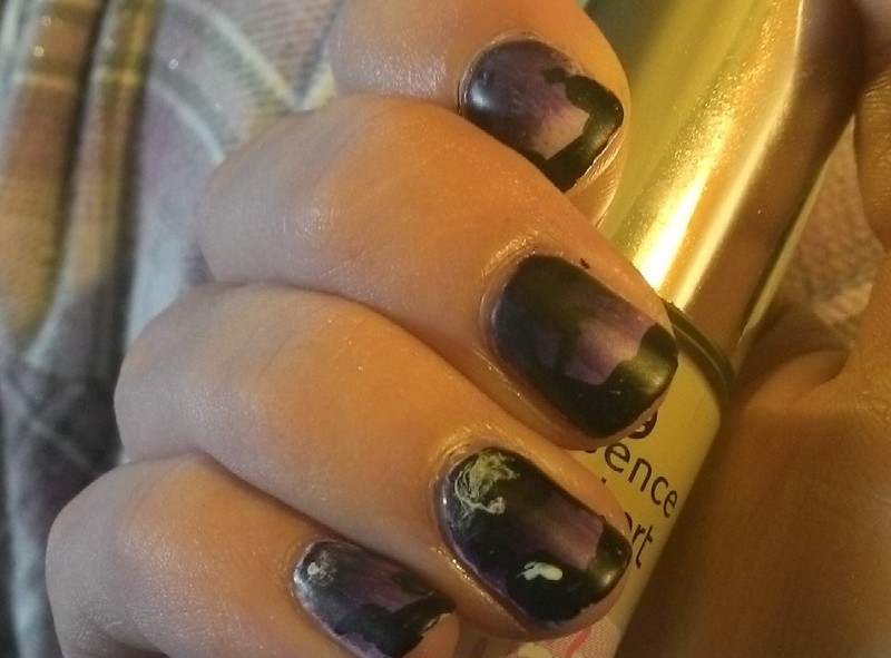 Halloween nail art by Kristyna