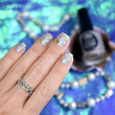 Nail Art Siren nail art by Penélope Luz