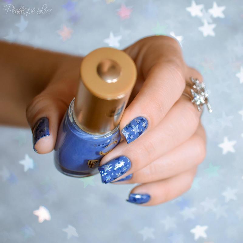 Star Nail Art nail art by Penélope Luz