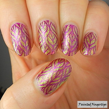 Purple stamping leaves thumb370f