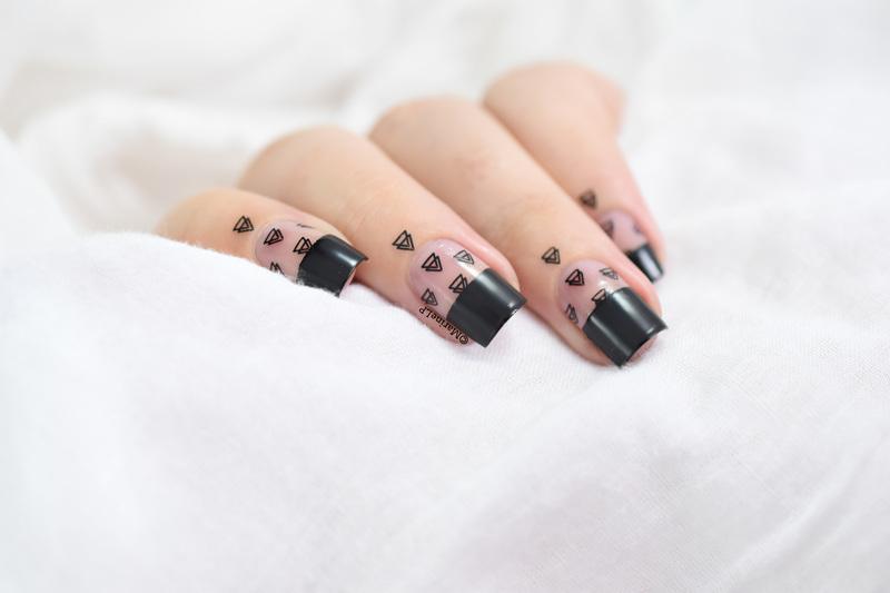 Géométrie variable nail art by Marine Loves Polish