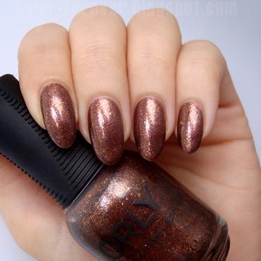Orly Meet Me At Mulholland Swatch by ania