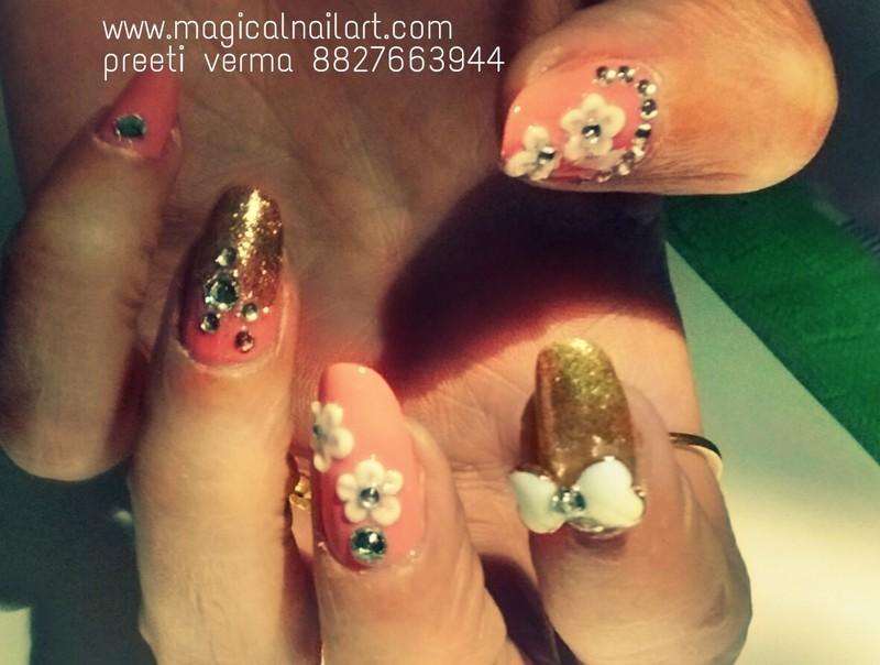 3d nail art nail art by preeti verma