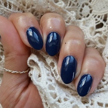 Sinful Colors Navy I Do Swatch by Alisha Worth