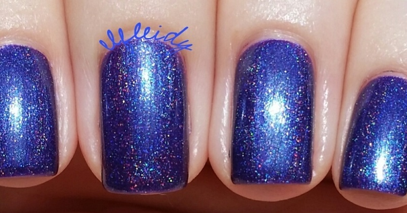 Top Shelf Lacquer No One Fights Alone Swatch by Jenette Maitland-Tomblin