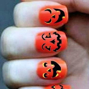 Orange nail paint thumb370f