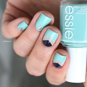 Inspired by Nail that design ! nail art by nathalie lapaillettefrondeuse
