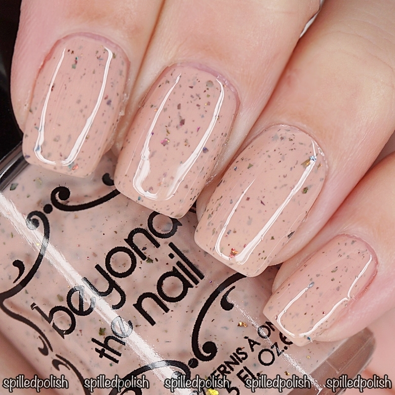 Beyond The Nail Shucks Swatch by Maddy S