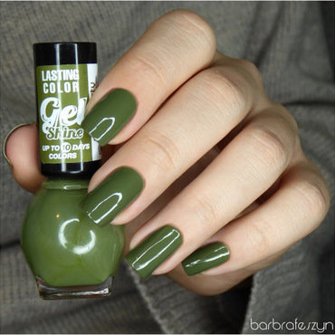 Miss Sporty Gel Shine 560 Swatch by barbrafeszyn