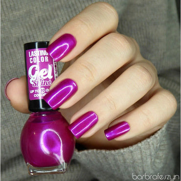 Miss Sporty Gel Shine 564 Swatch by barbrafeszyn