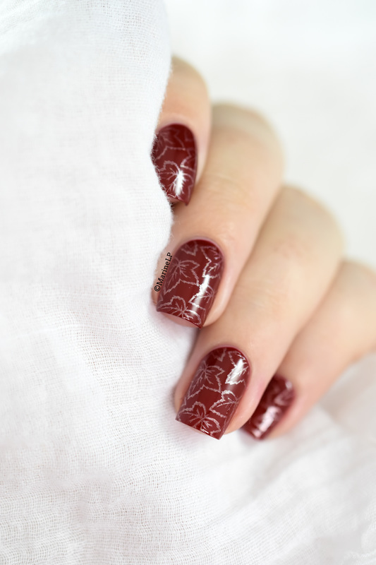 Balade d'automne nail art by Marine Loves Polish