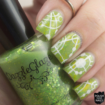 Magical Crops nail art by Marisa  Cavanaugh