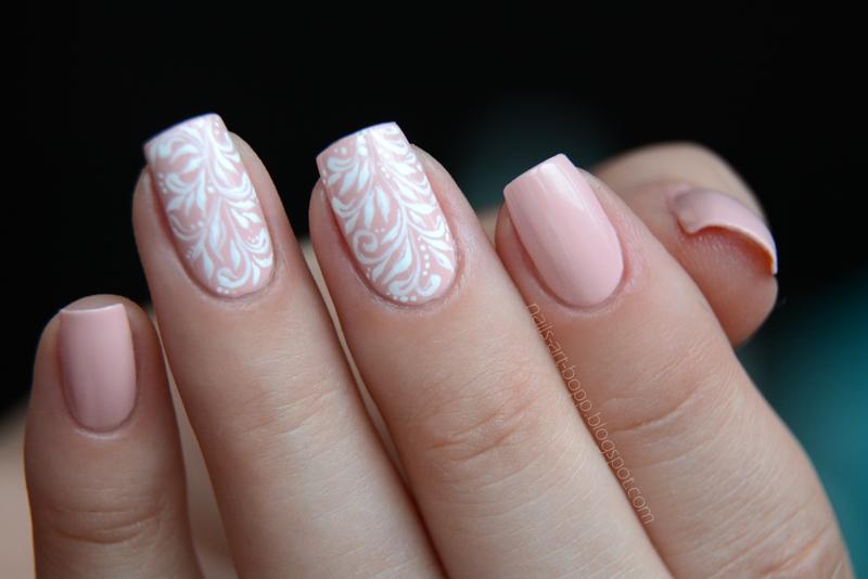 wedding nails nail art by bopp