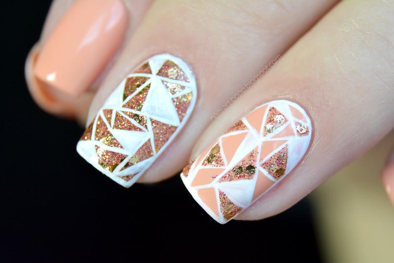 mosaic nail art by bopp