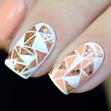 mosaic nail art by bopp