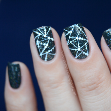 Stars nail art by bopp