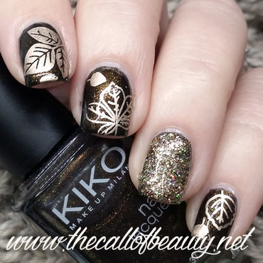 Fall Manicure nail art by The Call of Beauty