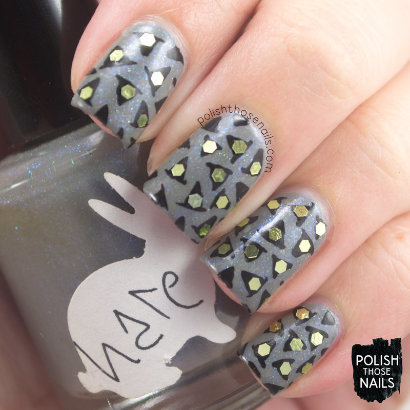 Witch Hat Is Witch? nail art by Marisa  Cavanaugh