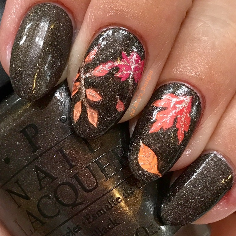 Autumn Feels nail art by JMura_Designs