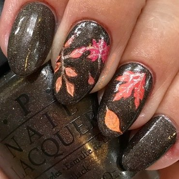 Autumn Feels nail art by JMura_Designs