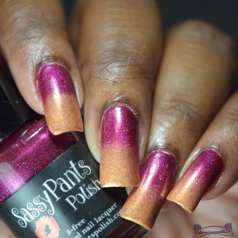 Challenge Your Nail Art Day - 5 nail art by glamorousnails23