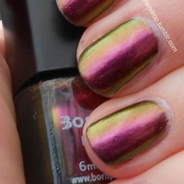 Born Pretty Chameleon 205 Swatch by Raindrop