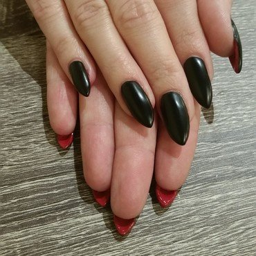 Louboutin Nails  nail art by Ailesh Abrams