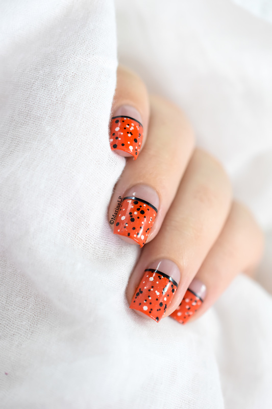 Classy Halloween nails nail art by Marine Loves Polish