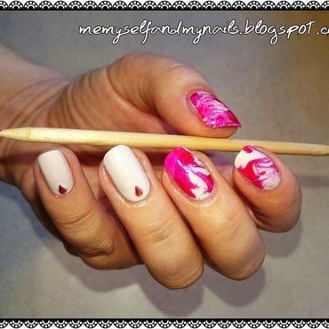 Bloody Mani nail art by ELIZA OK-W