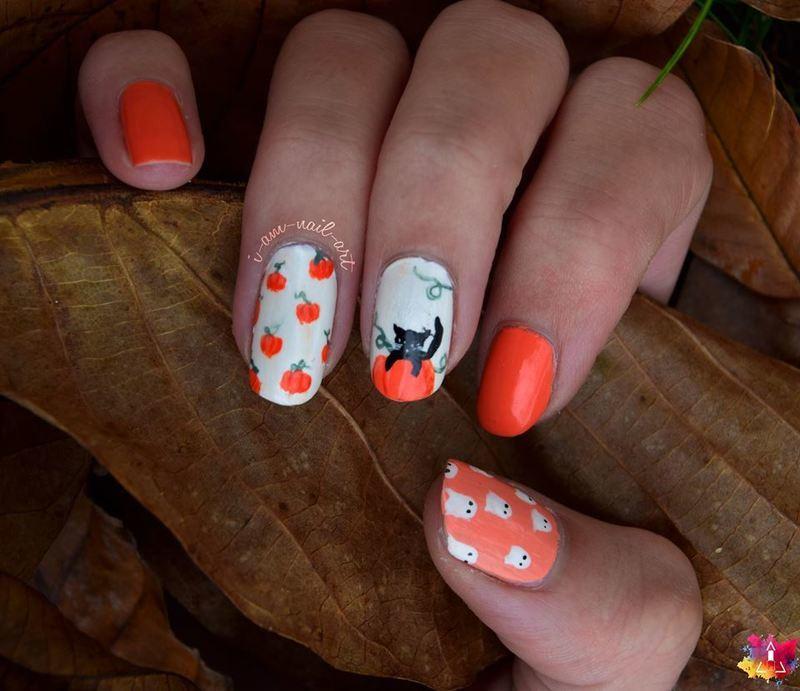 Halloween nail art by i-am-nail-art