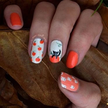 Halloween nail art by i-am-nail-art