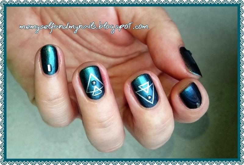 FISHTAIL nail art by ELIZA OK-W