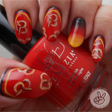 International Food - Germany nail art by Ithfifi Williams