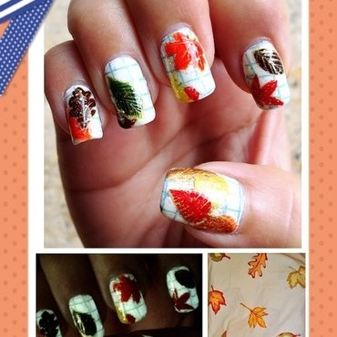 pottery barn sheets nail art by Idreaminpolish