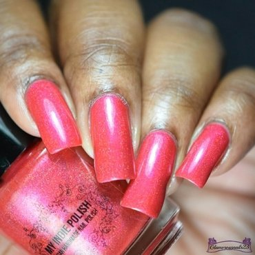My Indie Polish Romeo Swatch by glamorousnails23