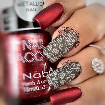 Matte Nails  nail art by Morenita  Morena