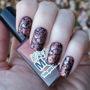 Fall Color nail art by Gr8Nails